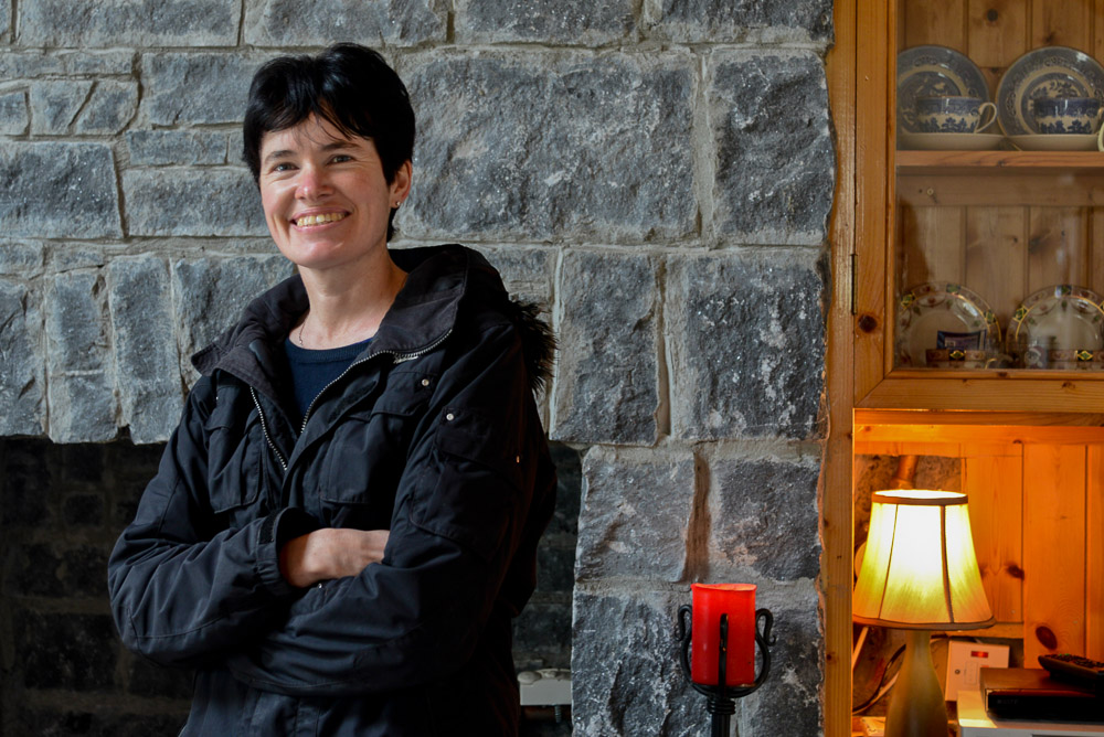 Marie Coyne (Photographer Historian), Inishbofin, Co Galway, Ireland.