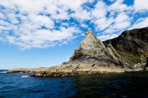 Co Mayo, Ireland, Inishturk Island. Rocks and Cliffs make up the west coast.