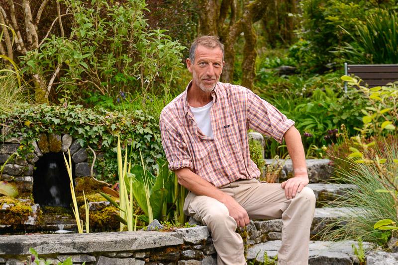Caher Bridge Garden (Carl Wright), Fanore, The Burren, County Clare,