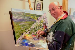 Michael Hanrahan, Artist, Main Street, Ennistimon, County Clare, Ireland