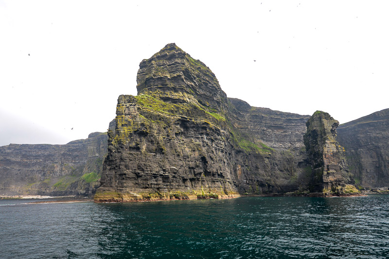 Cliffs of MoMoher from below, County Clare, Ireland