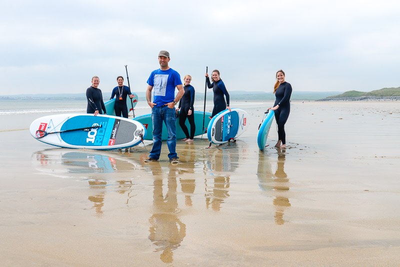 Ben's Surf Clinic, Lahinch Strand, County Clare, Ireland