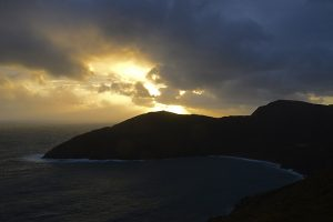 Moyteoge Head , Achill Island, County Mayo, Ireland. &copy John Ironside