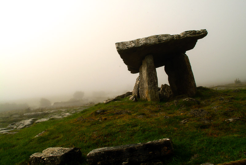 Poulnabrone Dolban. The Burren. County Clare, Ireland.