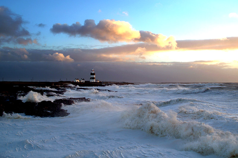 Hook Lighthouse, Hook Peninsula, County Wexford, Ireland