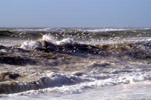 Turbuland seas off Carnsore, County Wexford, Ireland