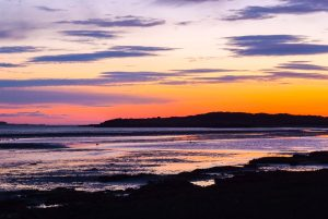 Sunrise at Rosslare Point, County Wexford, Ireland