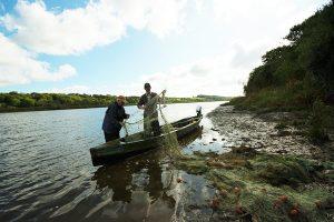 Salmon Netting on the River Slaney, Co Wexford, Ireland © John Ironside