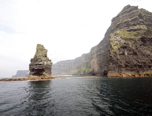 CLIFFS OF MOHER, FORMED 320 MILLION YEARS AGO