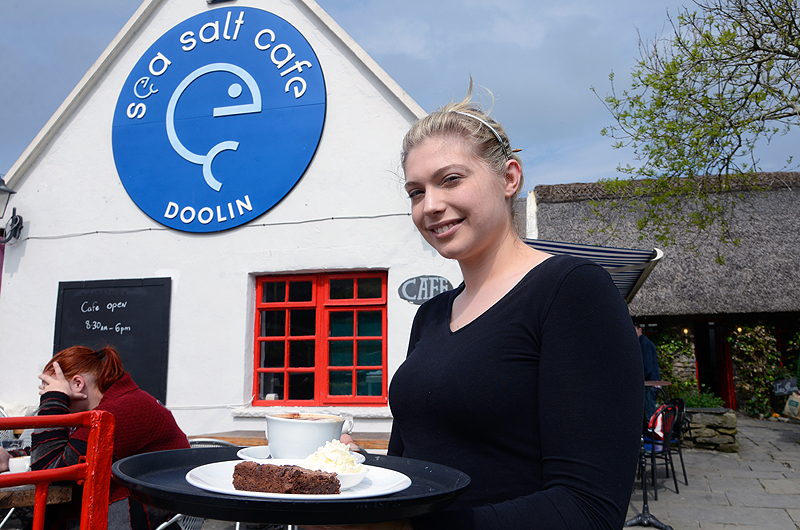 Sea Salt Cafe and Coffee shop, Doolin, County Clare, Ireland. © John Ironside