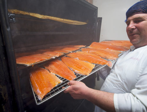 Wild Irish Salmon and Ballyhack Smokehouse