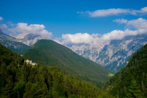 Alps, North West Slovenia. &copy John Ironside