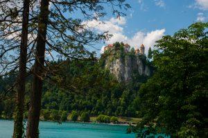 Bled Castle, Triglav National Park, Slovenia. &copy John Ironside