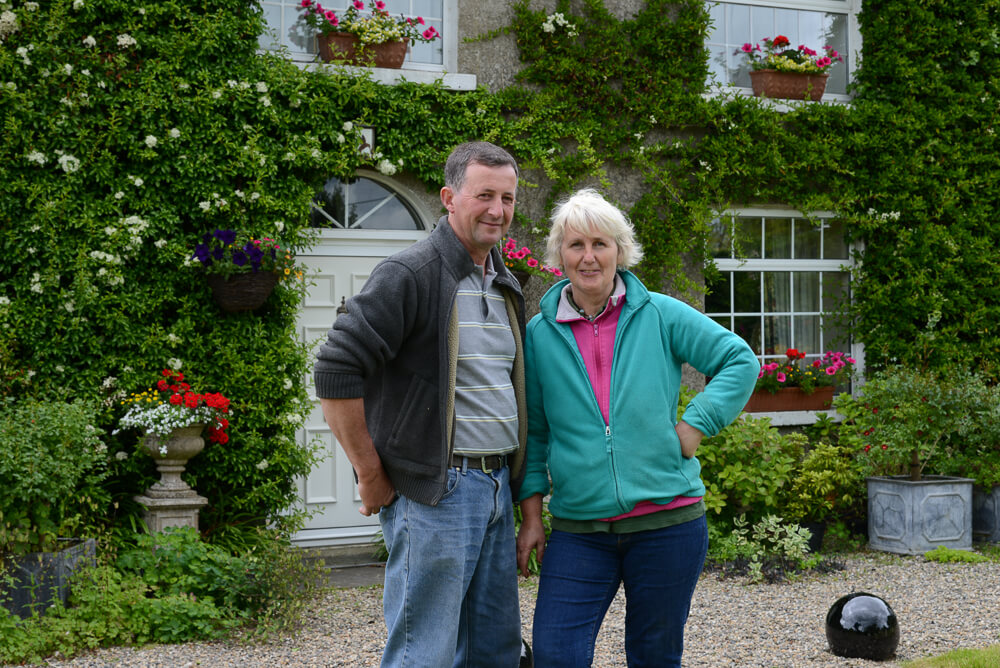 Caroline and Harry Deacon, Coolaught Gardens and Garden Center, Clonroche, Enniscorthy, County Wexford, Ireland. &copy John Ironside
