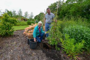 Caroline and Harry Deacon, Coolaught Gardens & Garden Centre, Clonroch, Enniscortyh, County Wexford, Ireland. &copy John Ironside