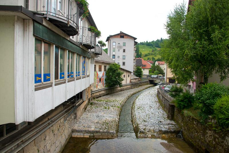 Idridja, Slovenia. &copy John Ironside