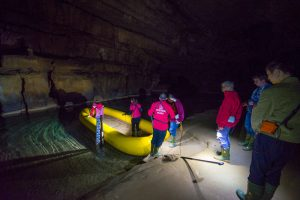 Križna Jama Cave, Green Karst Region, Slovenia. &copy John Ironside