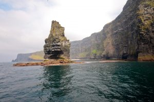 Cliffs of Moher from below, County Clare, Ireland