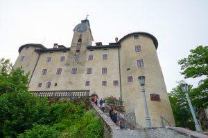 Gewerkenegg Castle and Idrija Municipal Museum, Idrija,Central Slovenia