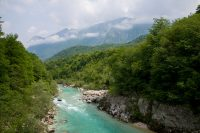 Soca River, North West Slovenia. &copy John Ironside