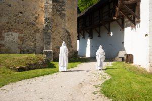Cathusian Monastery or Charter House in the hidden valley of St John the Bapyist, Kartuzija, Slovenia