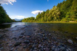 Sava River, Triglav National Park, North West Slovenia. &copy John Ironside
