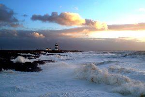 Hook Lighthouse, County Wexford, Ireland.