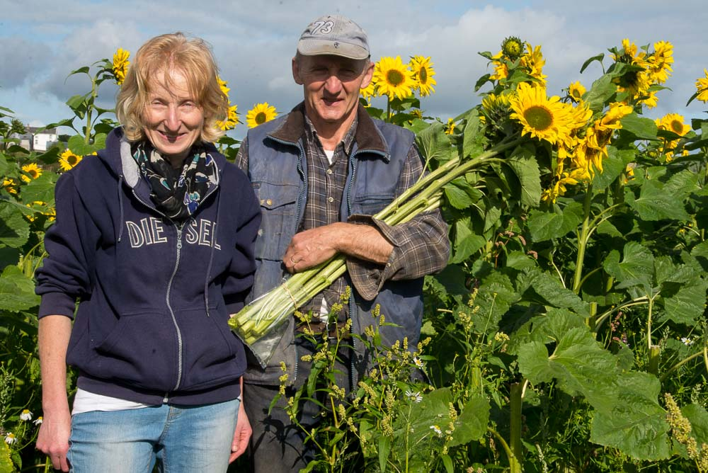 Eleanor and Richard Murphy, Glen Organic Farm, Glenmore, County Kilkenny, Ireland.