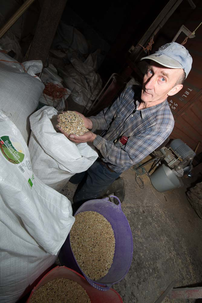 Richard Murphy, Glen Organic Farm, Glenmore, County Kilkenny, Ireland.