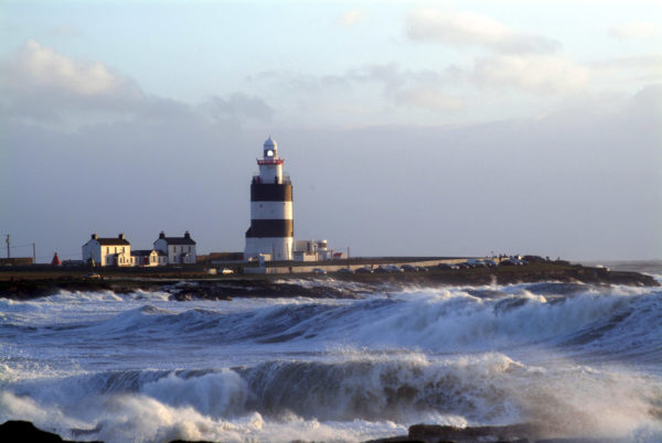 Hook Lighthouse, County Wexford, Ireland. Oldest working lighthouse in the world.