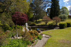 """""""Water Garden"""", Woodville House and Gardens, New Ross, County Wexford, Ireland"""
