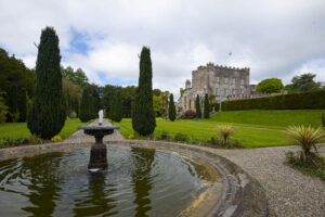 Formal French style Geometric Formal Garden, Huntington Castle and Garden, Clonegal, County Carlow, Ireland.